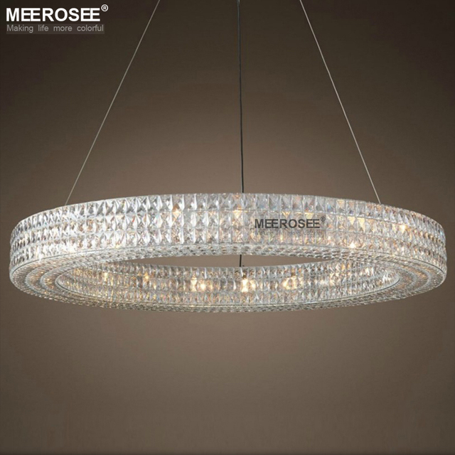 Luxury round crystal chandelier light large luminaires hanging luxury round crystal chandelier light large luminaires hanging lighting for restaurant hotel project crystal lamp lamparas aloadofball Images
