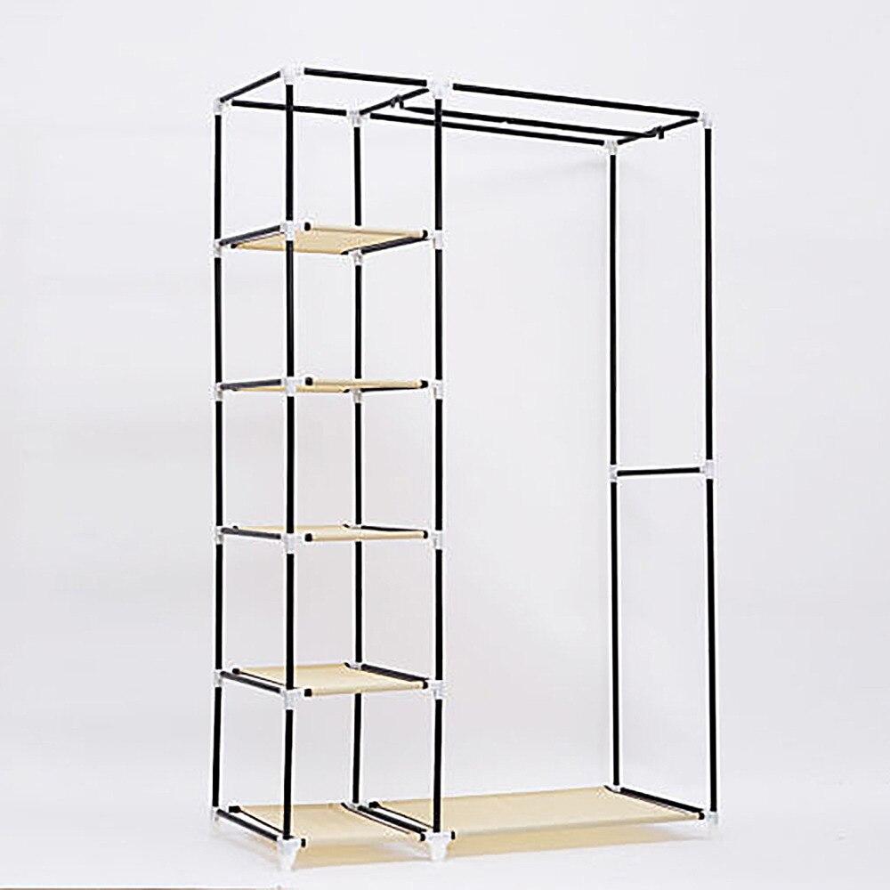 Armario simple grande guardarropa gabinetes simple refuerzo plegable ...