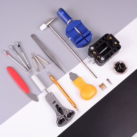 Professional Watch Repair Tool Sets Kit with Carry Bag Opener Link Remover Spring Bar Set Watchmaker Case