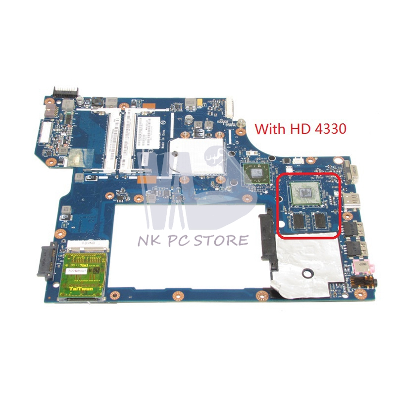 NOKOTION For Acer asipre 5534 5538 Laptop Motherboard HD4330 Graphics DDR2 Free CPU MBNAL00002 MB.NAL00.002 NAL00 LA-5401P nokotion la 5481p laptop motherboard for acer aspire 5516 5517 5532 mbpgy02001 mb pgy02 001 ddr2 free cpu mainboard