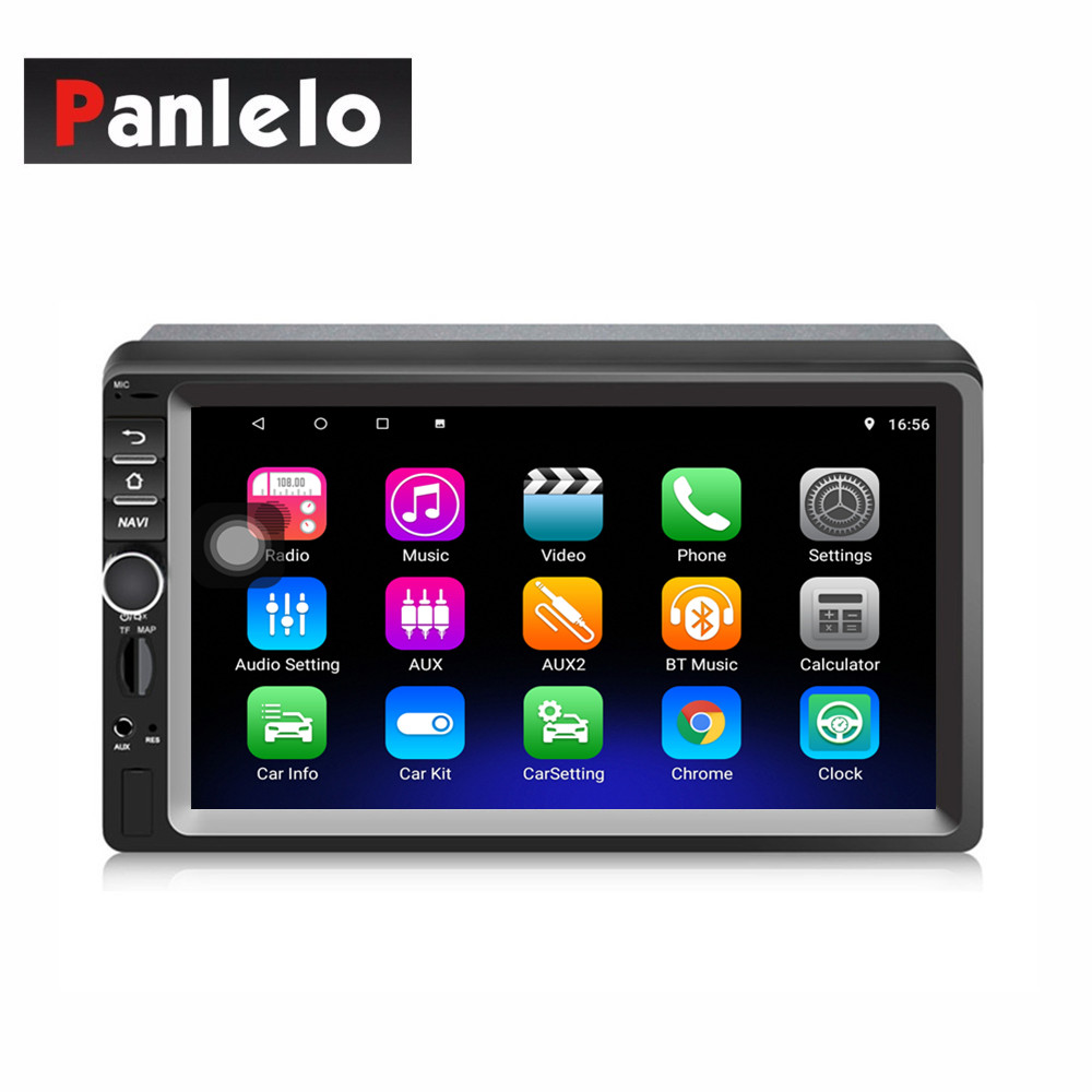 Panlelo 2 Din Car Multimedia Player Autoradio 2 Din Stereo 7 Inch Touch Screen GPS Navigation Support U disk AUX Card BluetoothPanlelo 2 Din Car Multimedia Player Autoradio 2 Din Stereo 7 Inch Touch Screen GPS Navigation Support U disk AUX Card Bluetooth