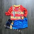 Boy's pajamas Cotton Nightwear Fireman Cartoon Loungewear Kids Boys Homewear Autumn Sleepwear halloween costumes for children