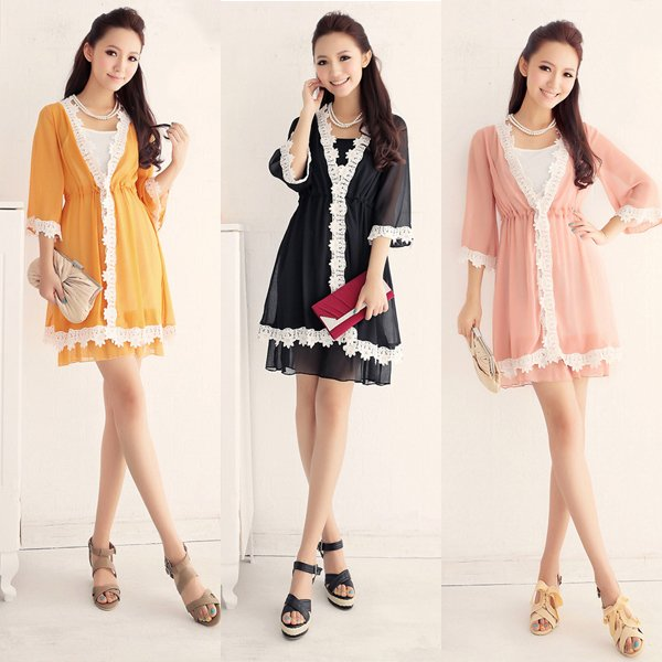 2e65c62acb7 Free shipping two-piece summer dress 2013 plus size korean clothing women  dresses new fashion wholesale and retail Qfeimei98160