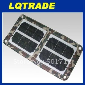 High efficiency  solar panel / 6W Folding solar charging bag / Fashion folding purse type solar energy bag