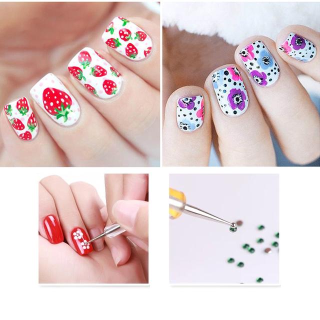 Nail Art Dotting Pen Set