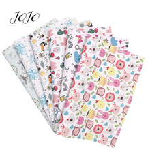 JOJO BOWS 22*30cm 1pc Faux Synthetic Leather Fabric Animal F