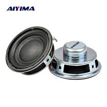 AIYIMA 2 шт 4 Ом 3 Вт аудио динамик 1,5 дюймов 40 мм твитер Pu Edge Altavoz Круглый Мини громкий динамик DIY домашний кинотеатр звуковая система