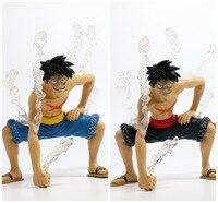 Una Pieza Del Engranaje Segundo Luffy Figura de Acción escala 1/8 figura pintada Desnuda Ver. velocidad Segunda Muñeca Del Mono D Luffy PVC figura de Juguete