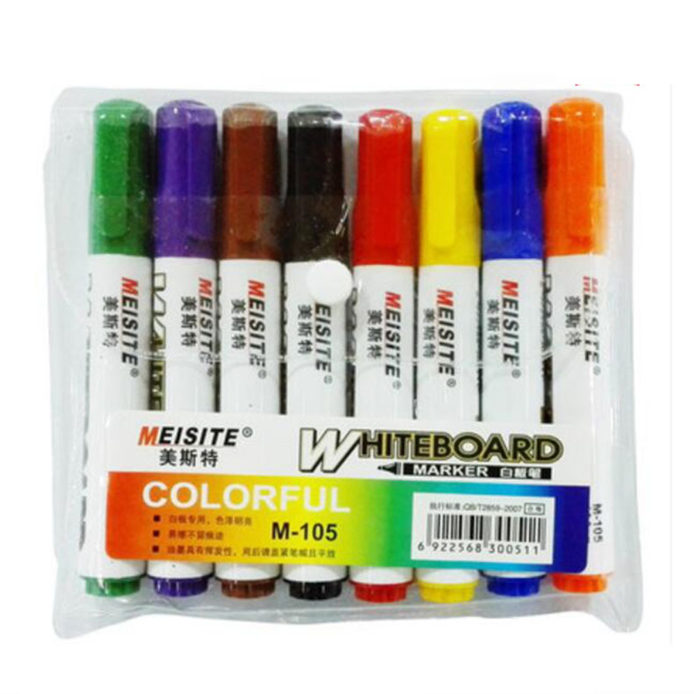 все цены на  Whiteboard Pen A Variety Of Color Erasable Marker Easy Clean Water Special Teaching  Dry Erase Markers /C004  онлайн