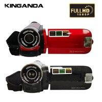 16 Million Pixels 1080P Full HD Digital Video Camera DV Cam Camcorder Recorder DVR 16X Digital Zoom Professional CMOS LED Light