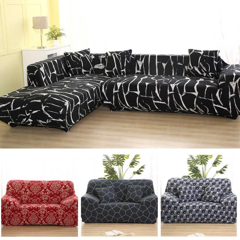 best loved ca36e e4ecc striped Elastic corner Sofa Covers Cheap Cotton For Living ...