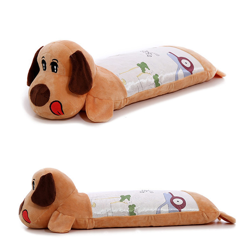 Comfortable Cartoon Style Anti Roll Baby Pillow Support For Infants To Prevent Flat Head Neck
