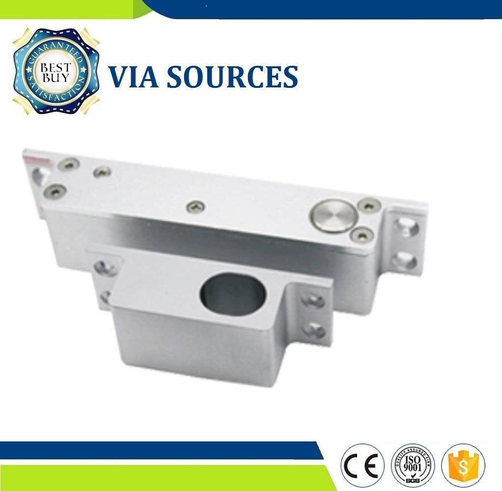 Free Shipping DC 12V Fail Safe Electric Drop Bolt Lock For Door Access Control Security Lock Door