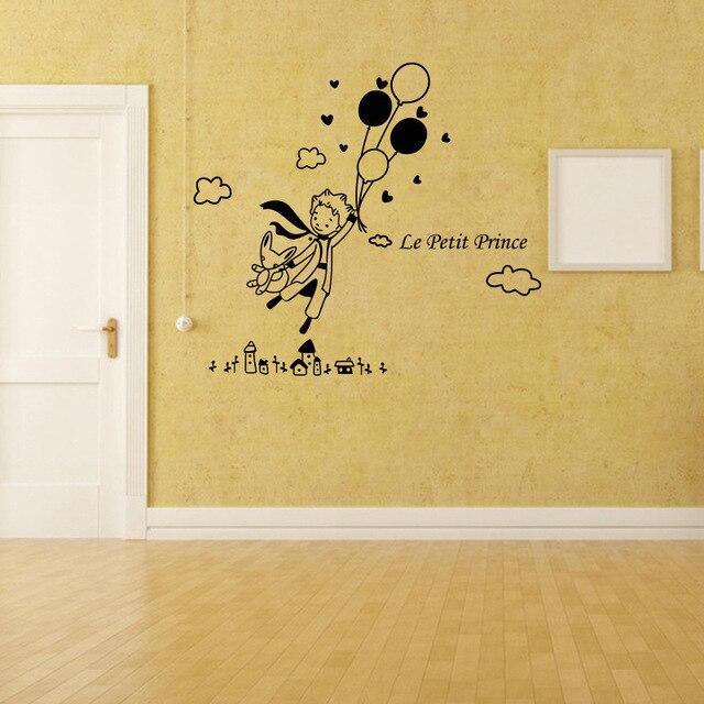 KEDODE Cartoon kindergarten nursery Prince balloon wall mural ...