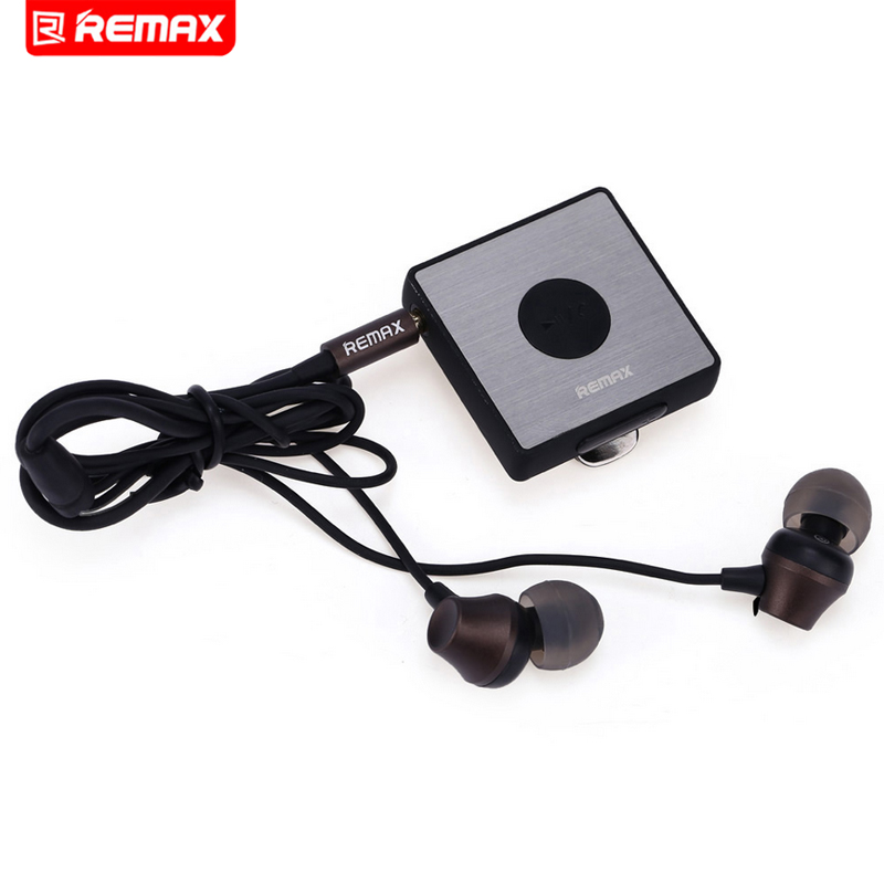 Remax Multi-Function Sport Clip On Bluetooth Headset HiFi Stereo Earphone RB-S3 + Retail package гарнитуры remax спортивная bluetooth гарнитура remax sport rb s3 black