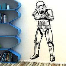 Star Wars movie characters decorative art wall stickers vinyl anime fans home decoration DY07