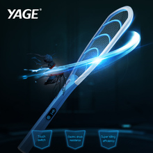YAGE Pest Control Electric Mosquito Swatter Mosquito Killers Bug Zapper Reject Racket Trap Electric Shock with Lights Touch yage pest control electric mosquito swatter mosquito killers bug zapper reject racket trap electric shock with lights touch