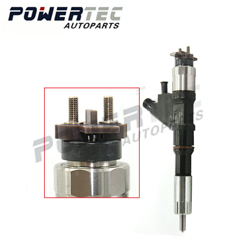 fuel pump truck parts inyector nozzle 095000 8011 and injection spray assy 095000 8011 common rail diesel injectors 8011