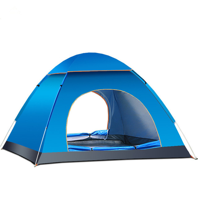 3-4 Person Fully Automatic Quick Fast Open Tents Outdoor Travel C&ing Fishing Beach Waterproof  sc 1 st  AliExpress.com & 3 4 Person Fully Automatic Quick Fast Open Tents Outdoor Travel ...