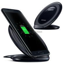 100% original de carga rápida cargador inalámbrico Pad EP-NG930 para Samsung GALAXY S7 Edg G9300