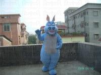 blue hippo mascot costumes cartoon hippopotamus river horse behemoth