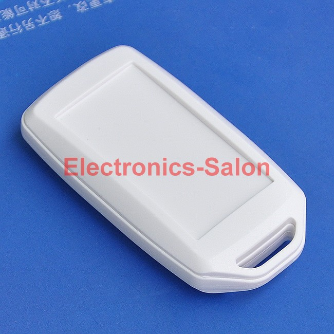 HQ Hand-Held Project Enclosure Box Case, Full White, 72 X 39 X 15mm.