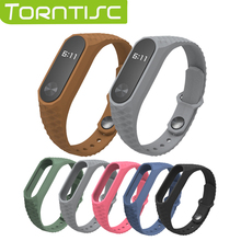 Newest Torntisc Silicone Aurora Smart Wristband For XIAOMI MI Band 2