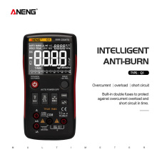 ANENG Digital Multimeter Testers Capacitor Transistor 9999 True NCV Professional DIY
