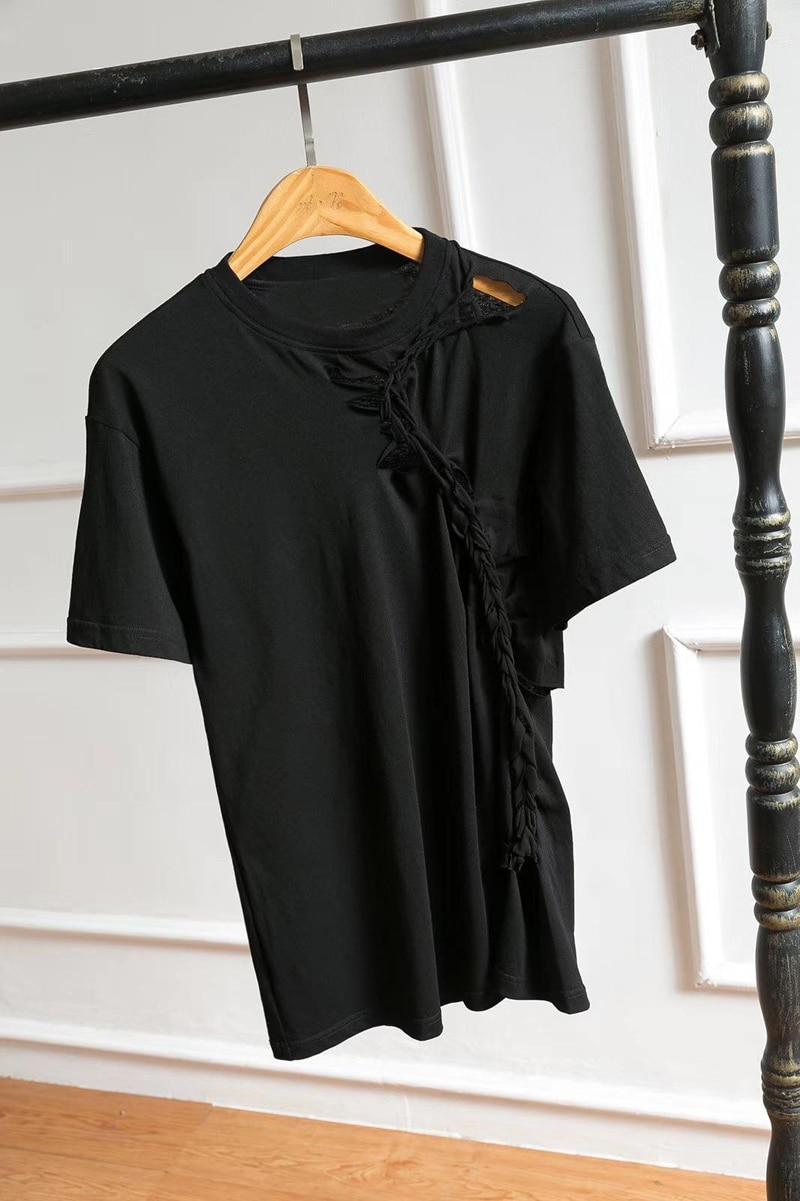 Rmsx Mode Femmes 3 Couleur T Tee 04 Trou shirt 2 U4Z1w0q