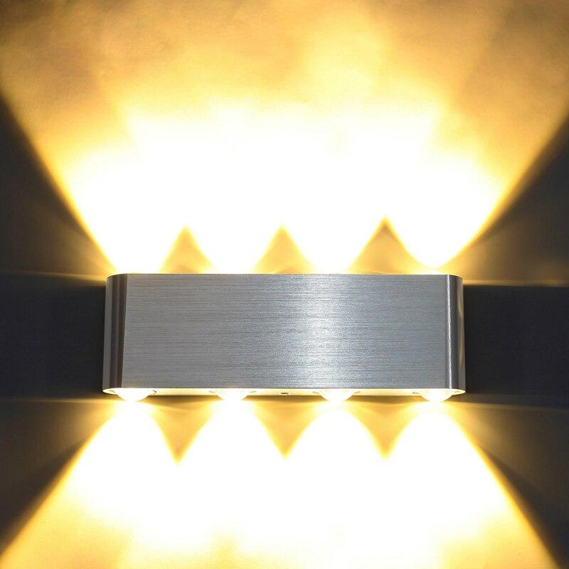 Humor Innen Beleuchtung High Power 2 Watt 4 Watt 6 Watt 8 Watt Led Wand Lampen Ac220v 230 V Aluminium Schmücken Wand Leuchte Schlafzimmer FÜhrte Wand Licht Licht & Beleuchtung