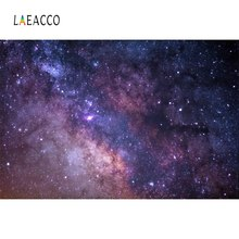 Laeacco Starry Glitter Star Sky Universe Party Night Scenic Pattern Photo Background Photography Backdrop Photocall Photo Studio star night sky space galaxy themed star wars photo studio background vinyl cloth high quality computer printed wall backdrop