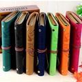 Caliente de La Vendimia cuaderno de papel de 80 hojas de Papel Kraft A6 cuaderno de Dibujo material Escolar Oficina Diario Espiral De Cuero Cuadernos y Diarios