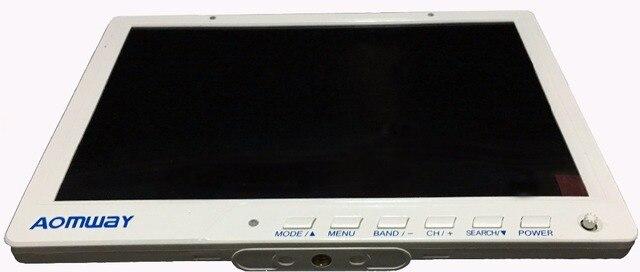 Alta Calidad HD588 Aomway 10 Pulgadas 5.8G 40CH Diversidad FPV HD Monitor 1920x1200 DVR con Estructura en Batería Para FPV Multicopter de