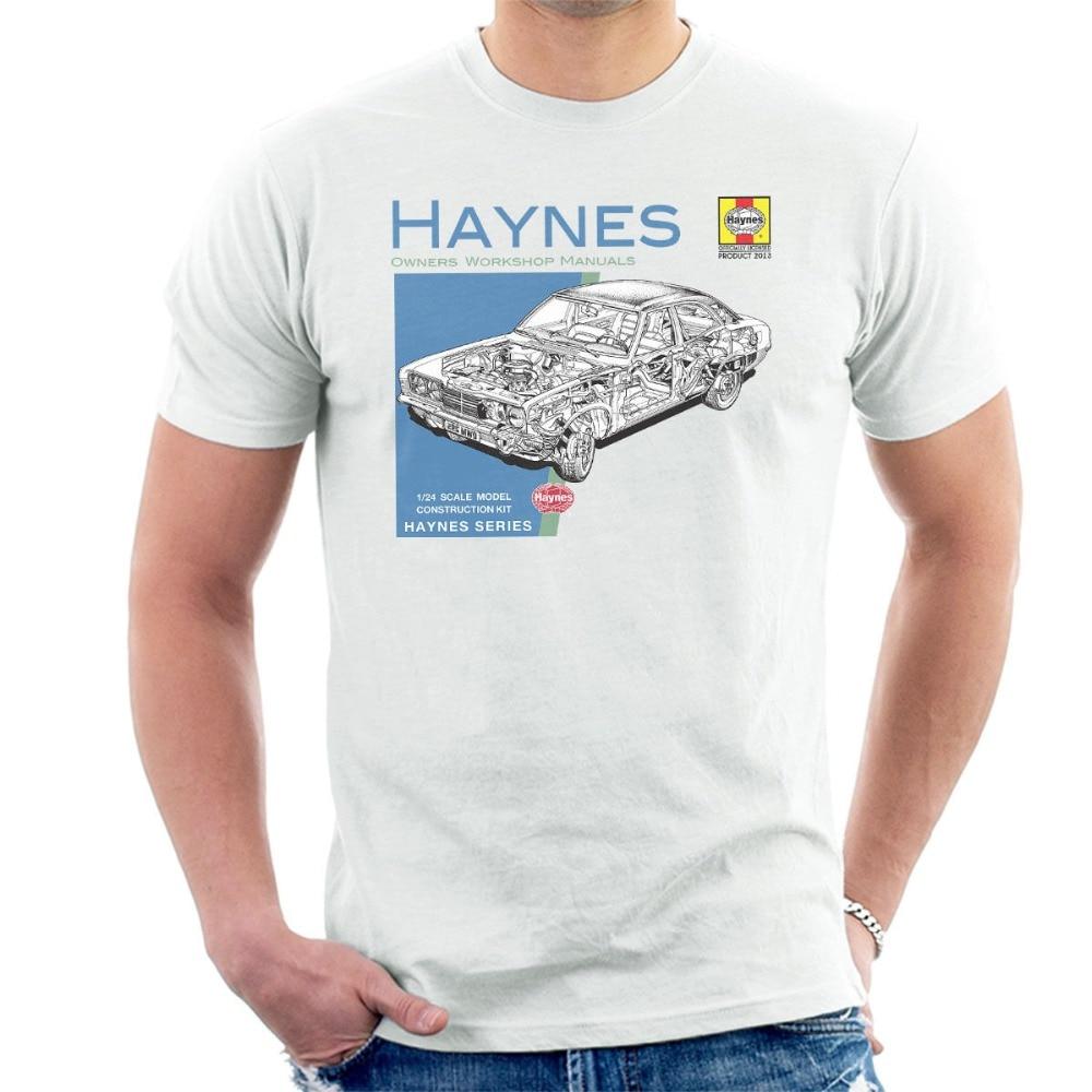 Amerikaanse Klassieke Auto Mk2 Cortina Heren T-shirt 2019 Fashion Mans Unieke Katoen Korte Mouwen O-hals T-shirt Army T-shirt Duurzame Modellering