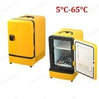 Mini Portátil de Dupla Utilização 12 V 7L Geladeira Carro Cooler Warmer Viagem Frigorífico Multi-Função Auto Casa de Campismo