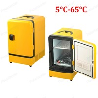 Mini Portable Double Use 12V 7L Auto Refrigerator Car Fridge Multi Function Cooler Warmer Travel Home Camping