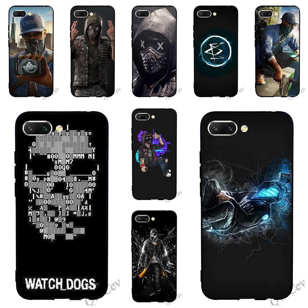 Print Watch Dogs Wrench Phone Case for Huawei Honor 6A Cover 10 8 9 Lite 7A Pro 7X 7C Y6 Prime Nova 3 3i TPU in Fitted Cases from Cellphones Telecommunications