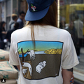 new arrive fashion brand summer Rip N Dip MAYO RAFT tee shirt pocket summer tee Persistence of Memory tee