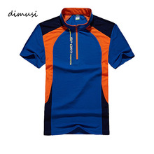 DIMUSI Quick Dry POLO Shirt Men Patchwork Summer Short Sleeve Shirts Camisas Polo Breathabl Slim Mens Polo Tops Tee 5XL,YA658