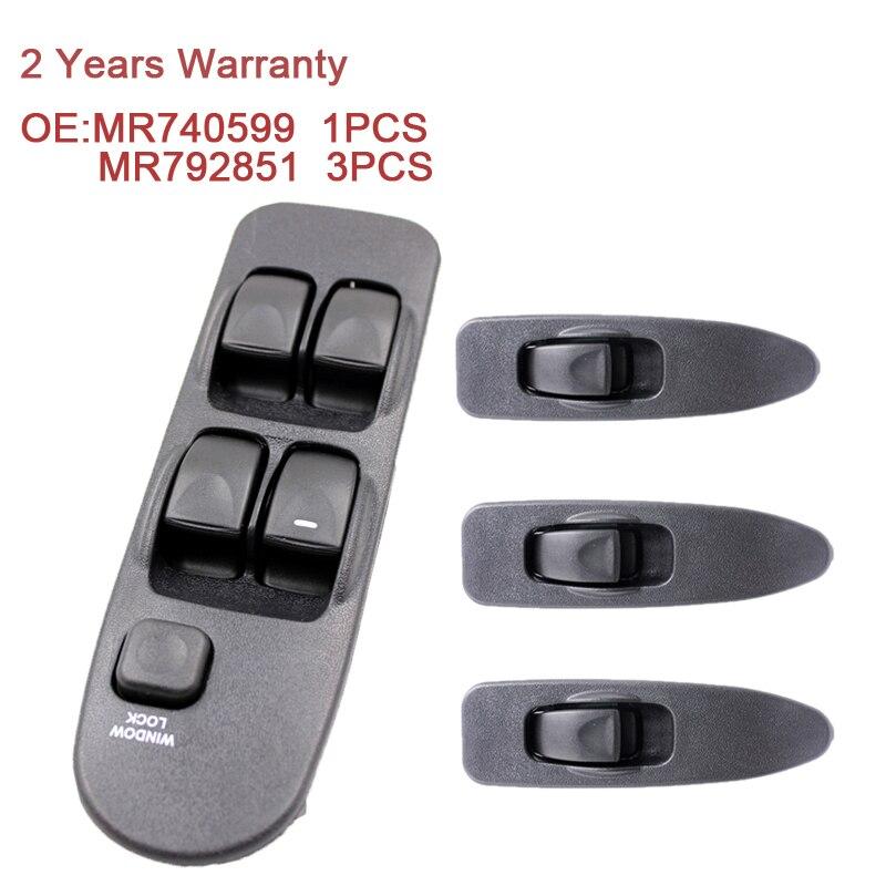 MR740599 MR792851 Power Fenster Schalter Control Master Panel Schalter Front Universal Rechts Links 5 Bottons Für Mitsubishi Carisma