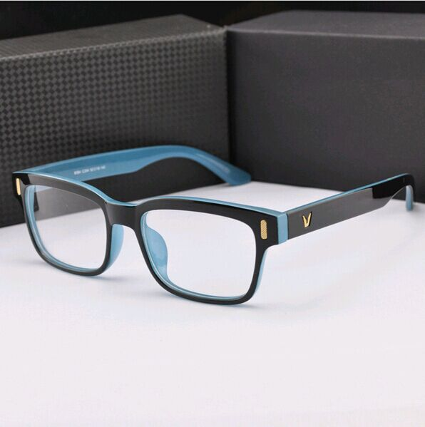 high fashion eyeglass frames  Aliexpress.com : Buy High grade V Shaped Box Eyeglasses Frame ...