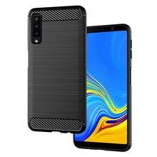 Carbon Fiber Case For Samsung Galaxy A50 2019 A7 2018 A30 A20 A10 A40 A70 A5 2017 A6 A8 Plus A9 A3 A8S A6s Star Case Covers стоимость
