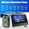 7 Monitor Wireless Video Doorbell Hand Free Intercom IR Door Phone Camera Night Vision Rainproof Home