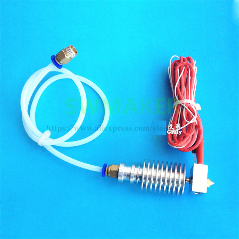 SWMAKER MK8 print head 0.4mm Nozzle suite V5 diffused heat pipe extrusion head set for DIY 3D printer accessory