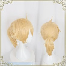 Halloween VOCALOID Hatsune Miku Snow Cosplay Brother Kagamine Ren Synthetic Hair