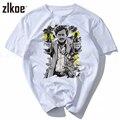 2017 t shirt Character Print Cotton T shirts For Men Narcos Pablo Escobar Funny Man Tshirt White Short Sleeve Top Tees Hipster
