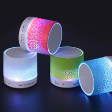 New LED MINI Bluetooth Speaker A9 TF USB Wireless Portable Music Sound Box Subwoofer Loudspeakers For phone PC