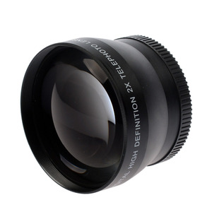 Image 3 - 49mm 2X magnification Telephoto Lens for Canon EOS M5 M6 M50 M10 M100 M200 camera with 15 45mm Lens