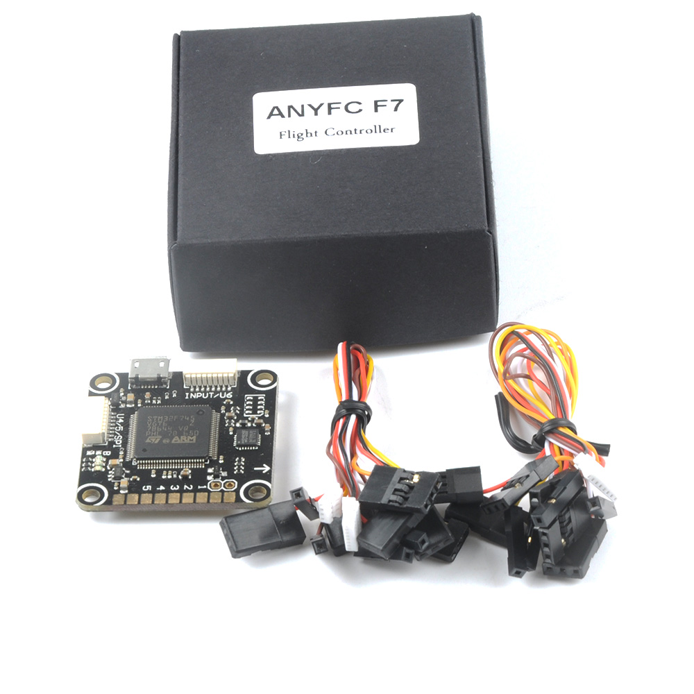 F7 Flight Controller AnyFC STM32F745VGT6 100lqfp 216MHz MPU6000 SPI Support SD Card for Racing Drone Quadcopter Multirotor tms320f28335 tms320f28335ptpq lqfp 176