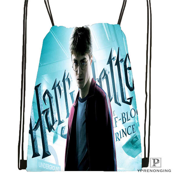 Custom Harry Potter Drawstring Backpack Bag Cute Daypack Kids Satchel Black Back 31x40cm 180612 02 34